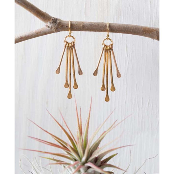 Petite Rain Goddess Earrings by Amano $26 | Light Years