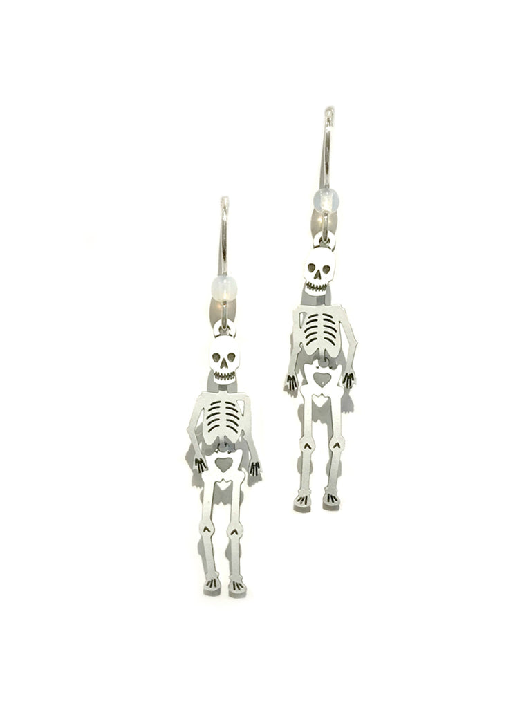 Dancing Skeleton Dangles by Sienna Sky | Sterling Silver | Light Years