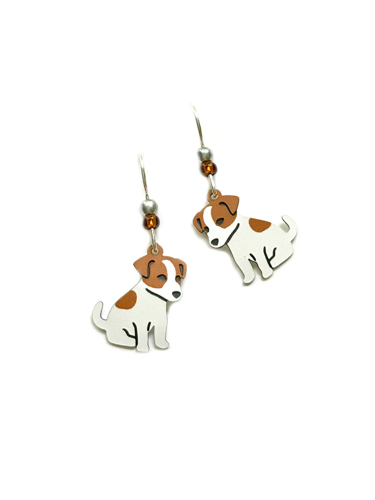 Jack Russell Terrier Dangles Sienna Sky | Sterling Silver | Light Years