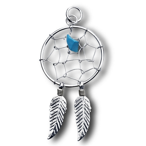 Dreamcatcher Pendant, $12 | Sterling Silver | Light Years Jewelry