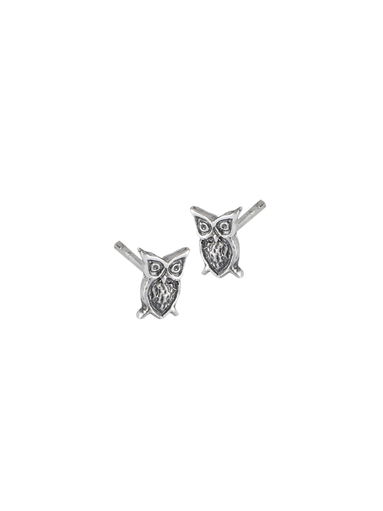 Owl Posts | Sterling Silver Birds Studs Earrings | Light Years Jewelry