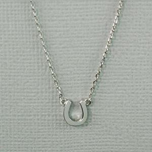 Horseshoe Necklace, $22 | Silver Plated | Light Years Jewelry