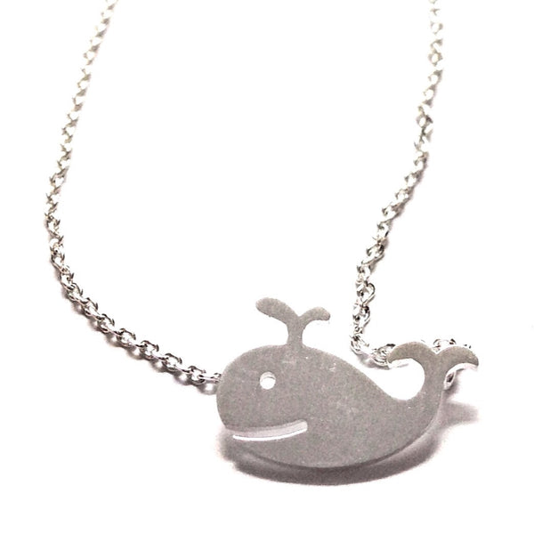 Whale Necklace, $22 | Silver | Light Years Jewelry