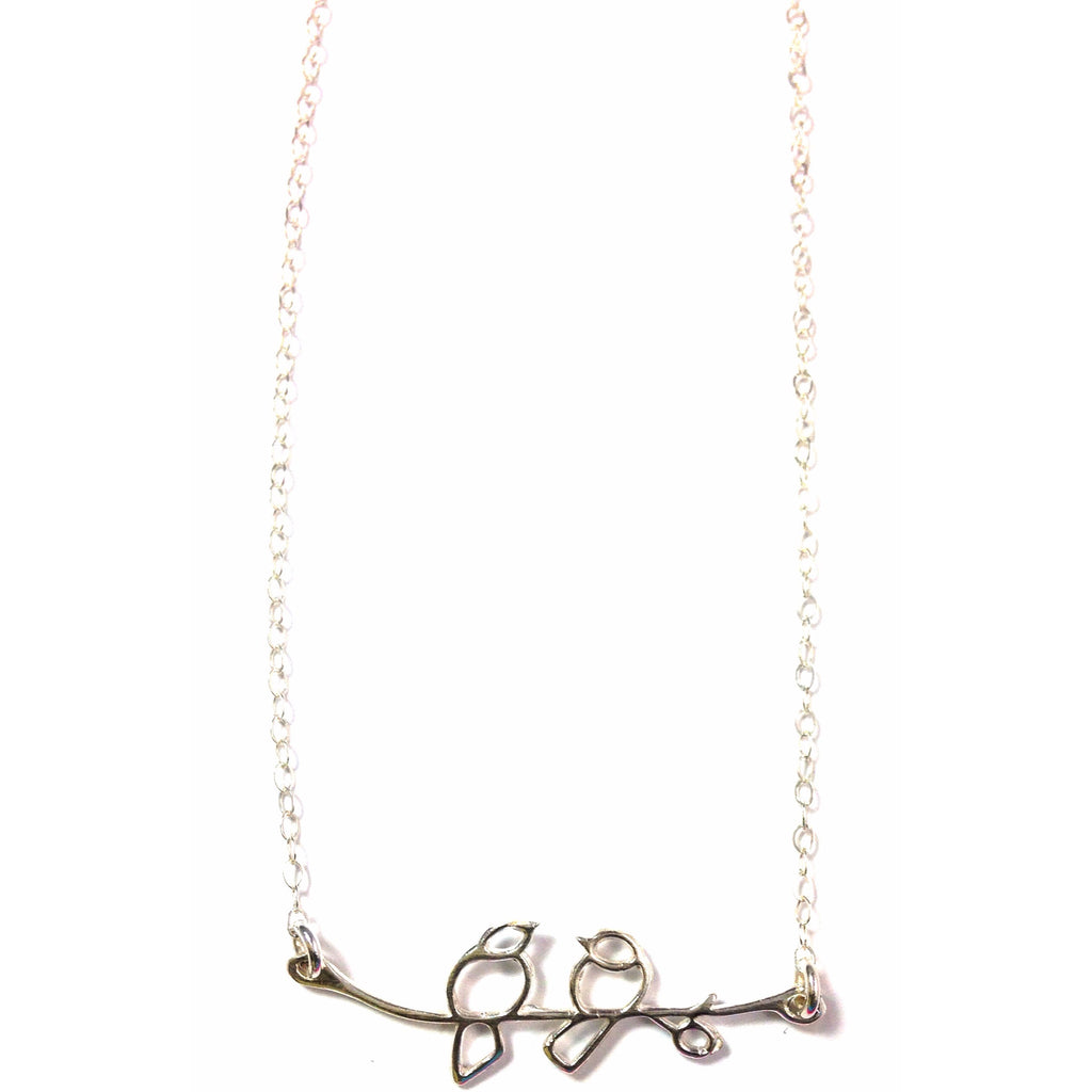 Love Birds Necklace, $34 | Sterling Silver | Light Years Jewelry
