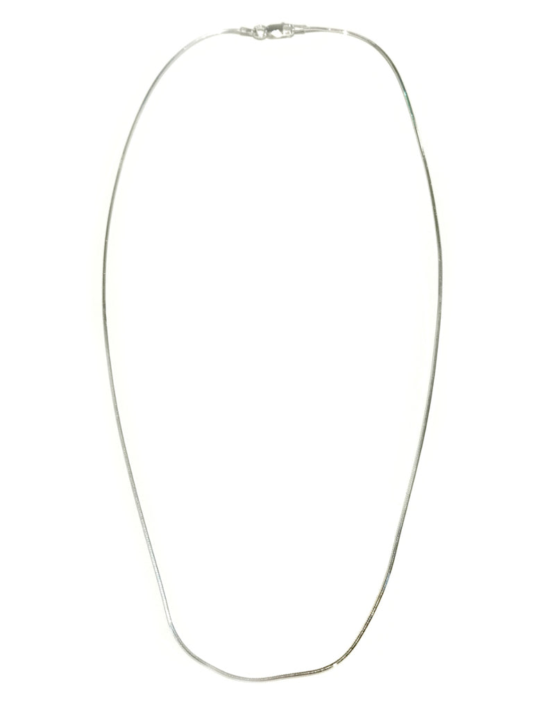 Shiny Snake Chain | Sterling Silver Necklace 16 18 20 22 | Light Years