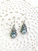 Blue Topaz Teardrop Dangles | Sterling Silver Earrings Bali | Light Years