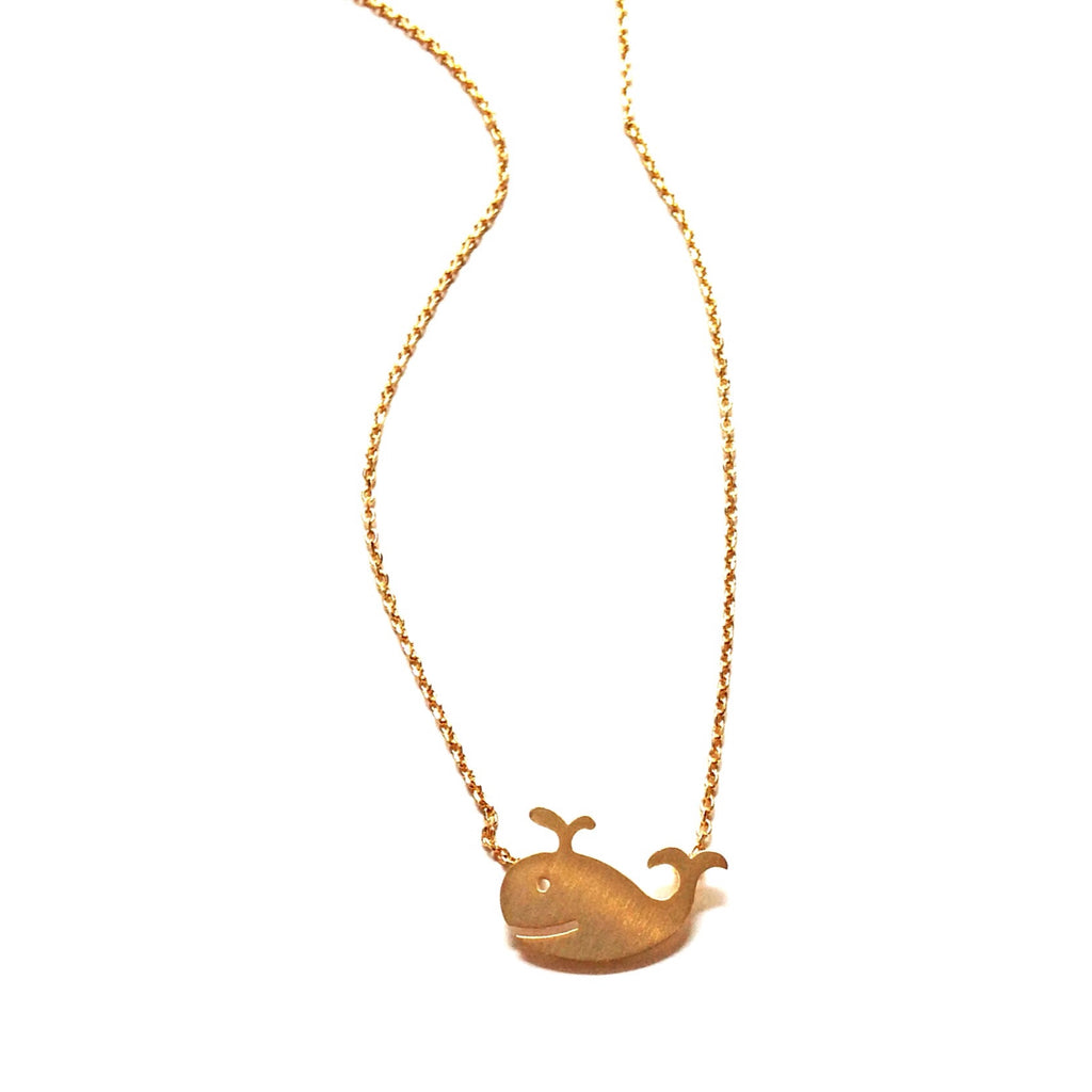 Whale Necklace, $22 | Gold | Light Years Jewelry
