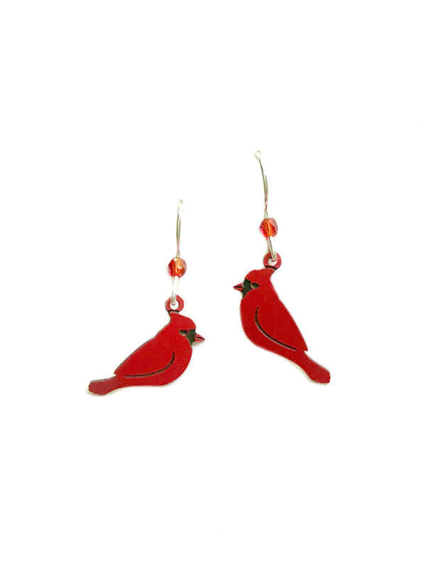Cardinal Dangles by Sienna Sky | Sterling Silver Earrings | Light Years