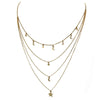 Celestial Layered Necklace | Gold Fashion Jewelry | Light Years Jewelry