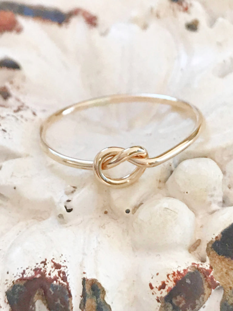 Classic Knot Ring | 14kt Gold Filled USA Size 5 6 7 8 9 | Light Years