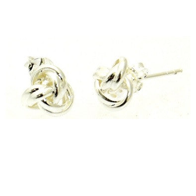 Knot Posts, $10 | Sterling Silver Stud Earrings | Light Years Jewelry