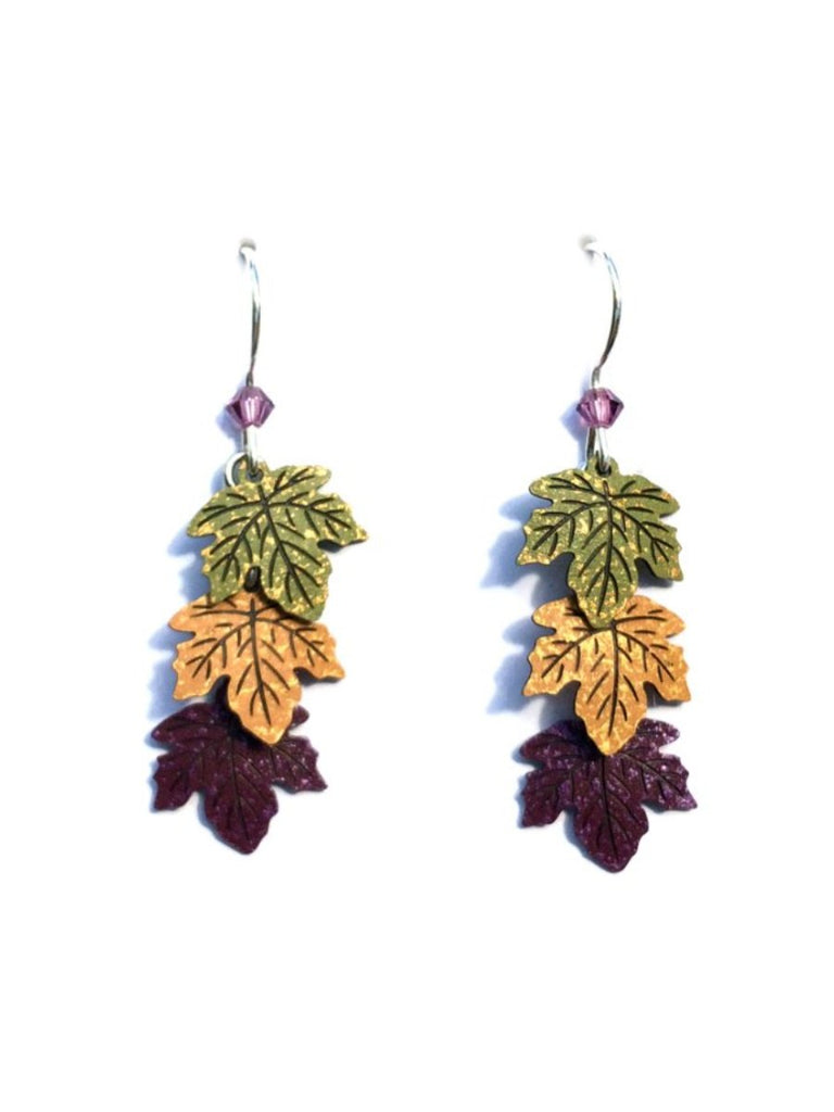 Fall Leaves Earrings by Sienna Sky | Sterling Silver USA | Light Years