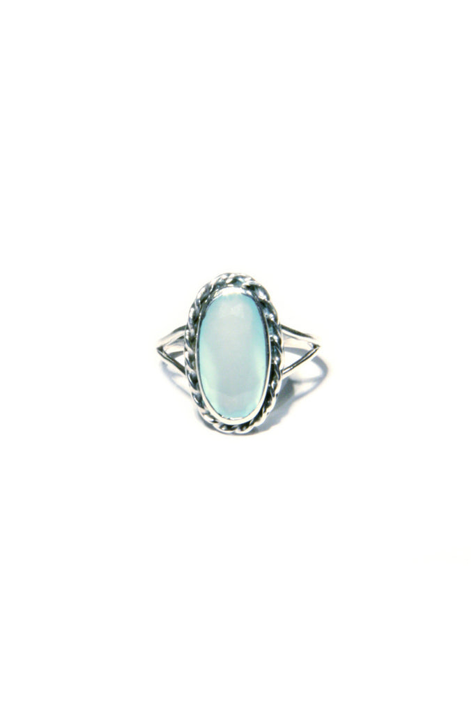 Twisted Stone Oval Ring, $26 | Sizes 6, 7, 8, 9 | Light Years Jewelry