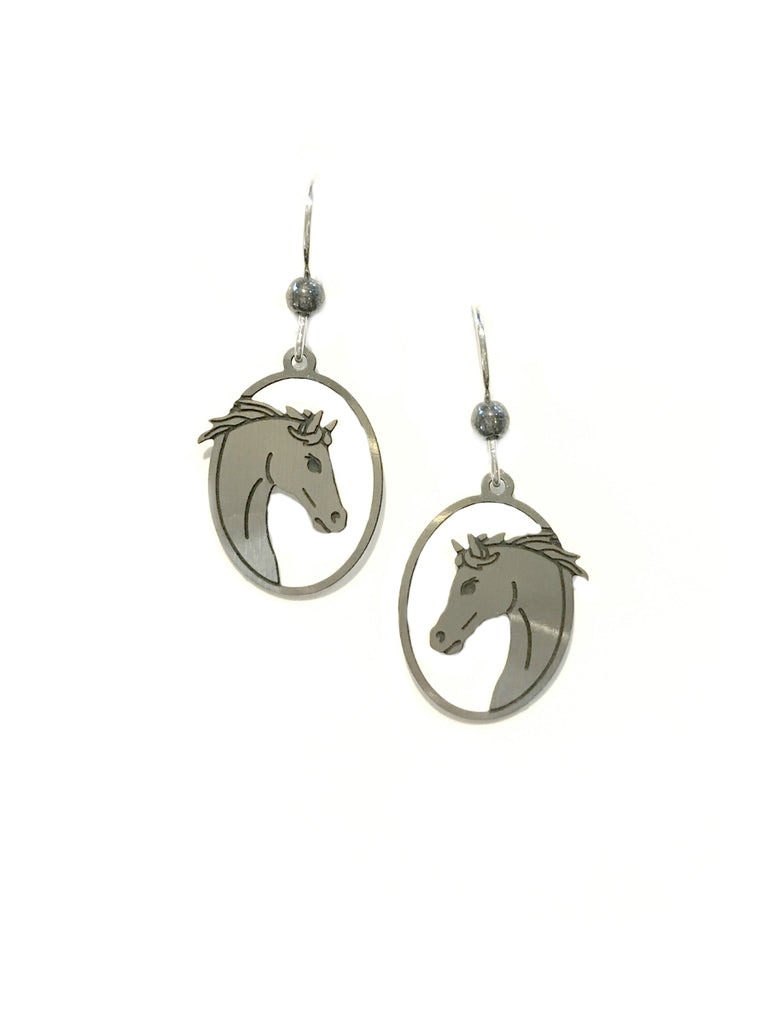 Horse Profile Dangles by Sienna Sky | Sterling Silver | Light Years
