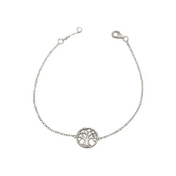 Tree of Life Chain Bracelet, $15 | Sterling Silver | Light Years Jewelry