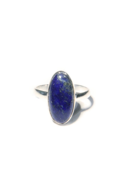 Oval Lapis Ring, $18 | Sterling Silver | Light Years Jewelry