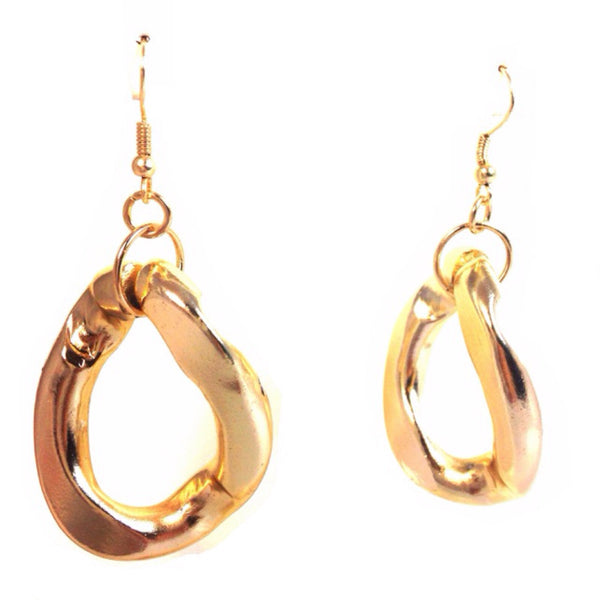 Gold Fashion Link Earrings, $8 | Light Years Jewelry