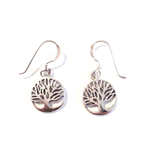 Tree Of Life Dangles | Sterling Silver Earrings | Light Years Jewelry