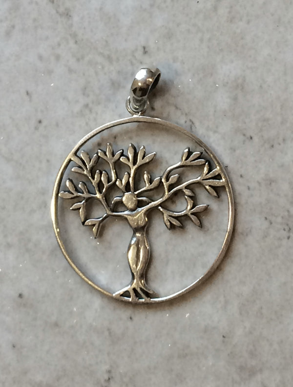 Goddess Tree Pendant, $24 | Sterling Silver | Light Years Jewelry