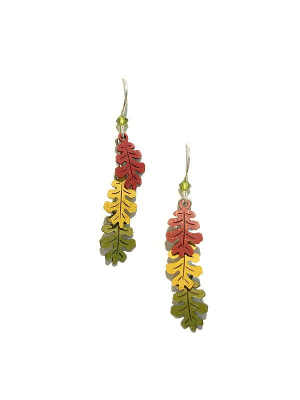 Autumn Oak Leaf Dangles by Sienna Sky | Sterling Silver | Light Years