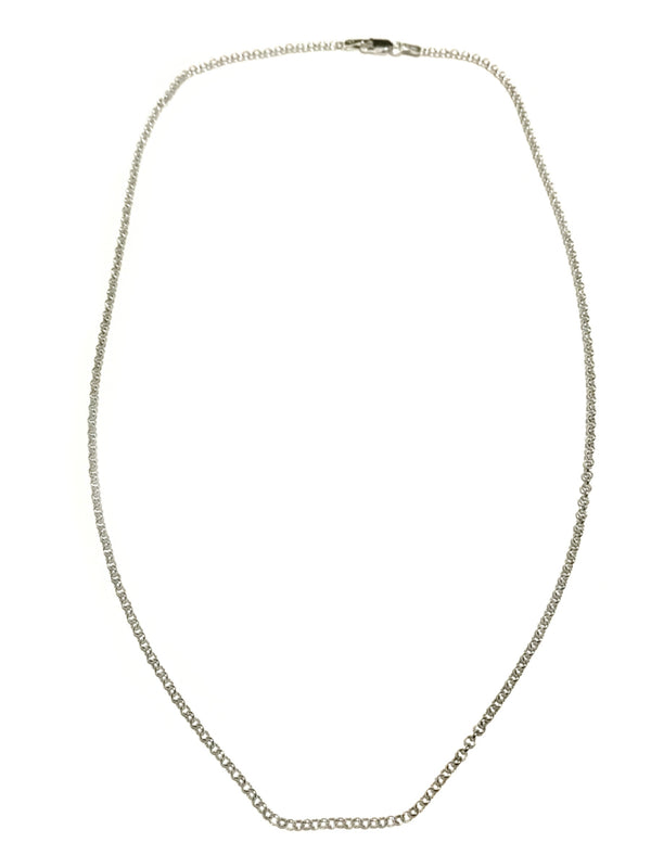 "Sterling Silver Rolo Chain | 18"" 20"" Necklace 