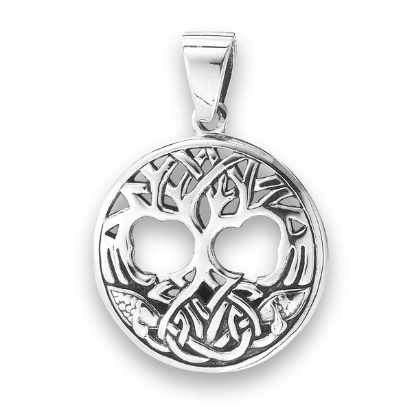 Celtic Tree Pendant, $24 | Sterling Silver | Light Years Jewelry