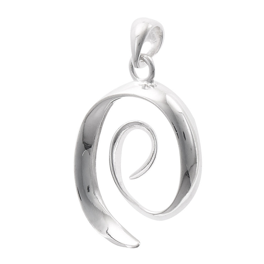Large spiral pendant necklace 24 sterling silver light years large spiral pendant necklace 24 sterling silver light years jewelry aloadofball Choice Image
