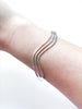 Triple Wave Cuff Bracelet | Sterling Silver USA Handmade | Light Years
