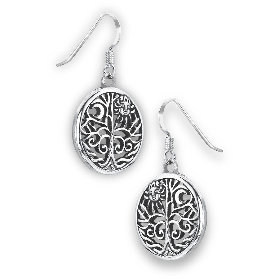 Celtic Tree, Moon, and Sun Dangles, $26 | Light Years Jewelry