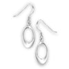Open Oval Dangles, $14 | Sterling Silver Earrings | Light Years Jewelry