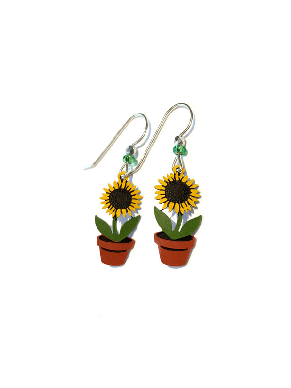 Sunflower Dangles by Sienna Sky | Sterling Silver USA | Light Years