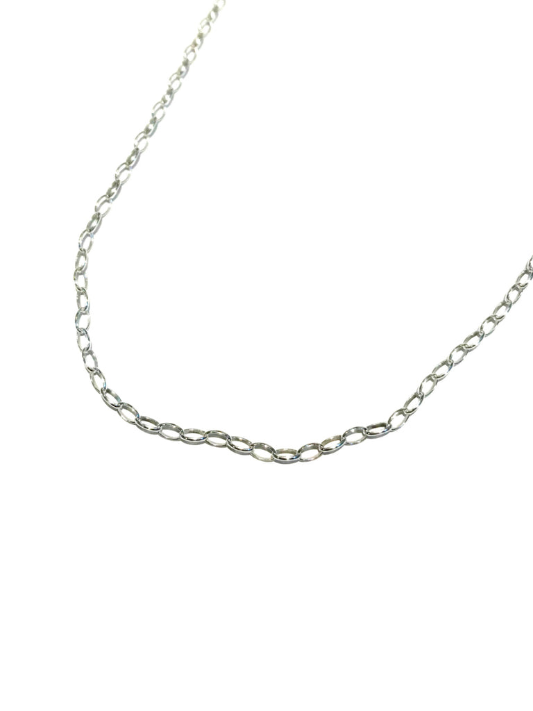"Sterling Silver Romy Chain | 16 18 20 24 30"" Necklace 