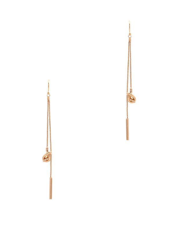 Knot & Bar Earrings