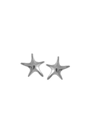 Small Starfish Posts, $9 | Stelring Silver Studs | Light Years Jewelry