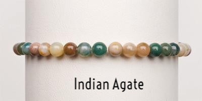 Indian Agate | Power Mini Bracelets