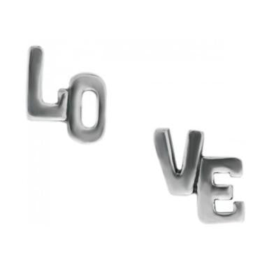 L-O-V-E Posts, $12 | Sterling Silver Stud Earrings | Light Years Jewelry