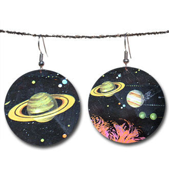 Beijo Brasil Spaced Out Earrings, $18 | Light Years Jewelry