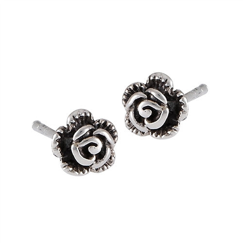 Rose Posts, $9 | Sterling Silver Stud Earrings | Light Years Jewelry