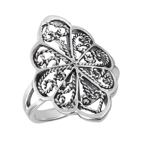 Filigree Design Ring, $16 | Sterling Silver | Light Years Jewelry