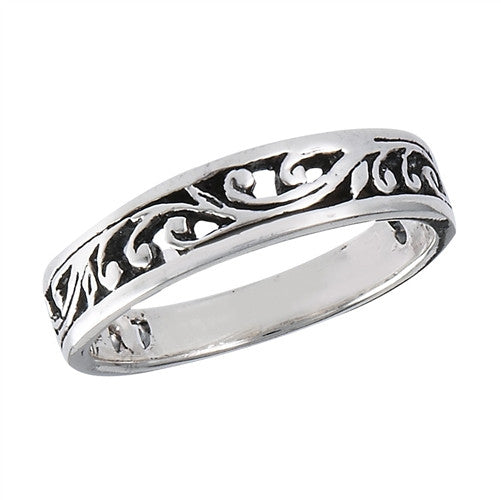 Filigree Vine Ring, $14 | Sterling Silver | Light Years Jewelry
