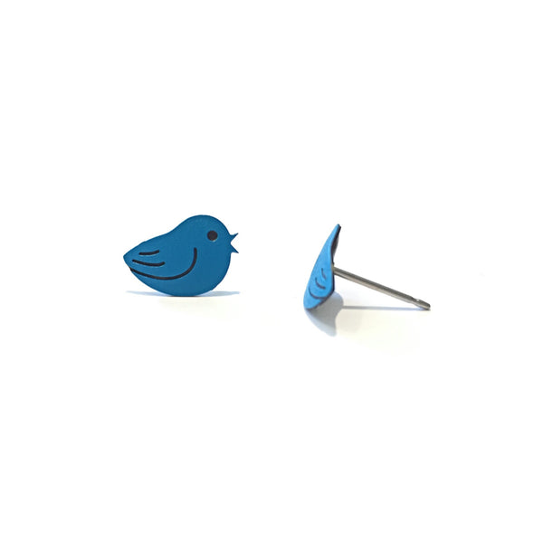 Singing Blue Bird Posts by Sienna Sky, $14 | Stud Earrings | Light Years Jewelry