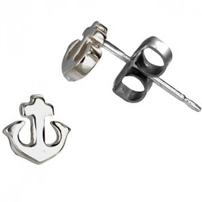 Anchor Posts $11 | Sterling Silver Stud Earrings | Light Years Jewelry