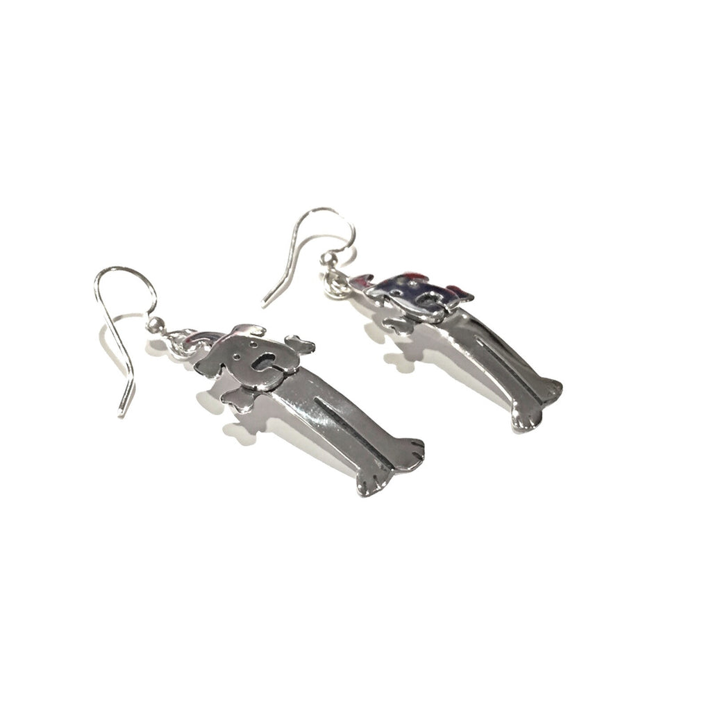 Dog and Bone Earrings, $16 | Light Years Jewelry
