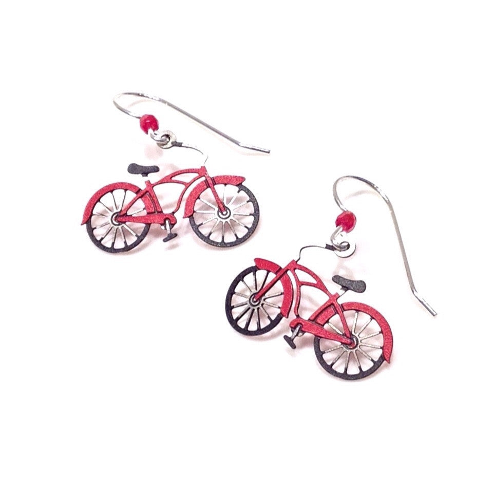 Bicycle Earrings by Sienna Sky