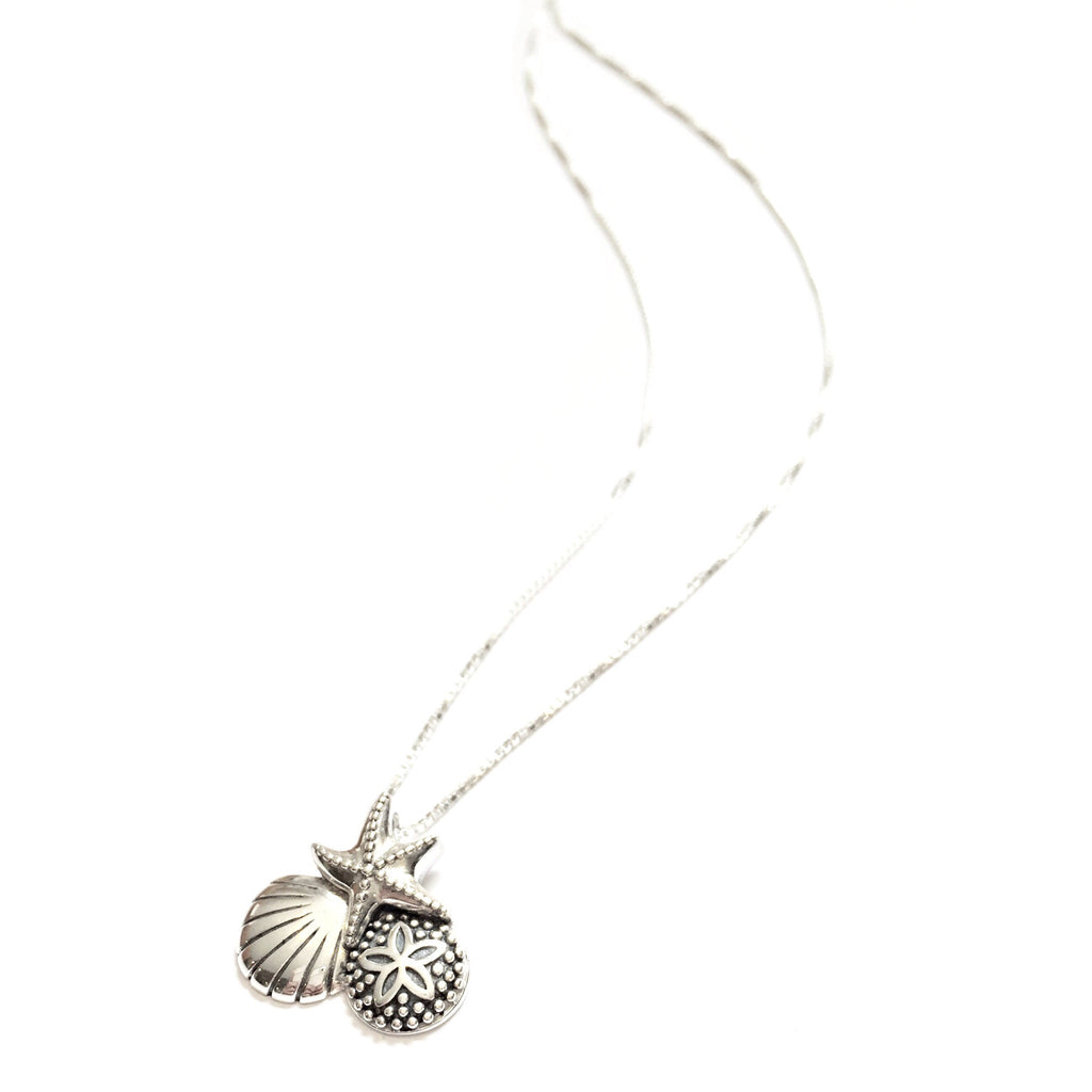 Ocean Life Charm and Chain, $18 | Sterling Silver | Light Years Jewelry