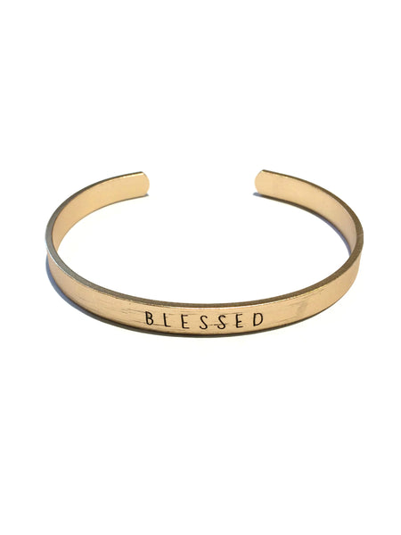 """Blessed"" Cuff Bracelet"