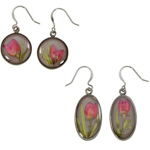Boronia Earrings, $38 | Handmade Dangles | Light Years Jewelry