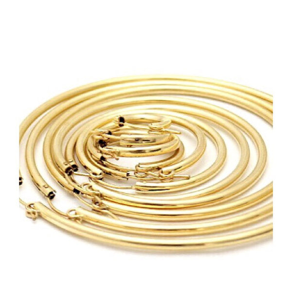 14kt Gold Pincatch Hoops | Earrings | Light Years Jewelry