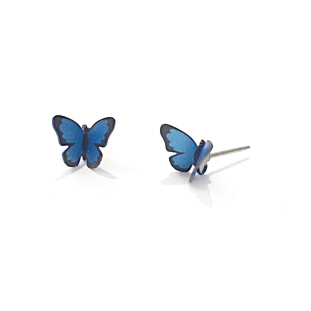 Butterfly Posts by Sienna Sky | Steel Studs | Light Years Jewelry