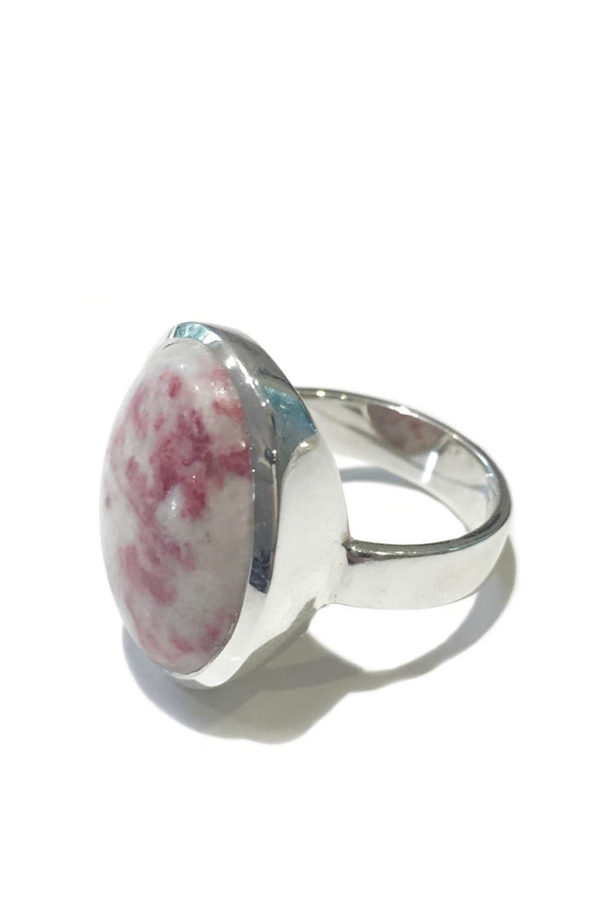Natural Cinnabar Ring, $40 | Sterling Silver | Light Years Jewelry